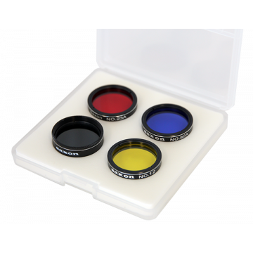 "saxon 1.25"" Colour Planetary Filter Set - SKU#643905"