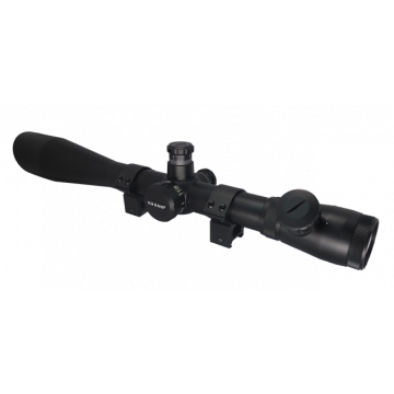 saxon 10-40x50XE Mil-Dot Precision Riflescope - SKU#420104