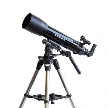 saxon 1026AZ3 SC Refractor Telescope with Steel Tripod - SKU#214224