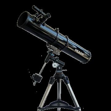 saxon 1149EQ2 Reflector Telescope with Steel Tripod - SKU#222601