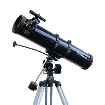 saxon 1309EQ2 Velocity Reflector Telescope with Motor Drive - SKU#222213