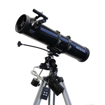 saxon 1309EQ2 Velocity Reflector Telescope with Motor Drive System - SKU#222313