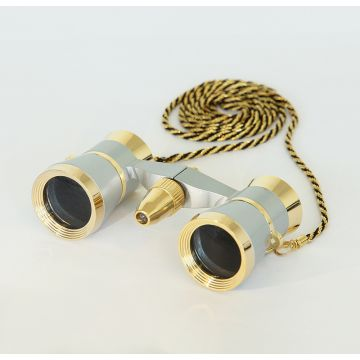 saxon 3x25 Opera Glasses with Light (Gold) - SKU#150012