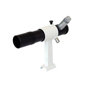 saxon 6x30 Illuminated Reticle Finderscope with Bracket - SKU#521001