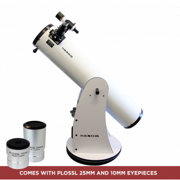 "saxon 8"" DeepSky Dobsonian Telescope - SKU#239108"