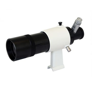 saxon 9x50 Illuminated Reticle Finderscope with Bracket - SKU#521002