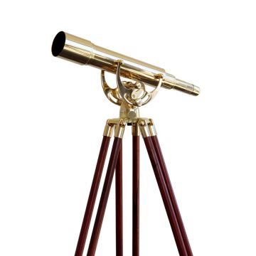 saxon Brass Spotting Scope (15-45x50B) - SKU#260010