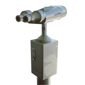saxon Coin-Operated Binoculars - SKU#132110