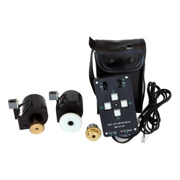 saxon Dual Axis Motor Drive with Controller Clutches, Cables and Battery Case EQ3 - SKU#622003