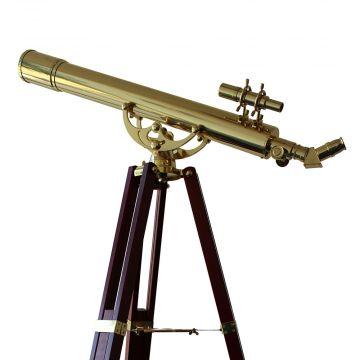 saxon Grandeur Brass Telescope (809B) - SKU#260020
