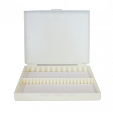 saxon Microscope Slides Case for 100pcs - SKU#311100