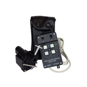 saxon Single Axis Motor Drive with Hand Controller and Battery Case EQ2 - SKU#621012