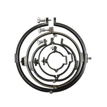 saxon Tube Rings 150mm for Newtonian - SKU#601150N