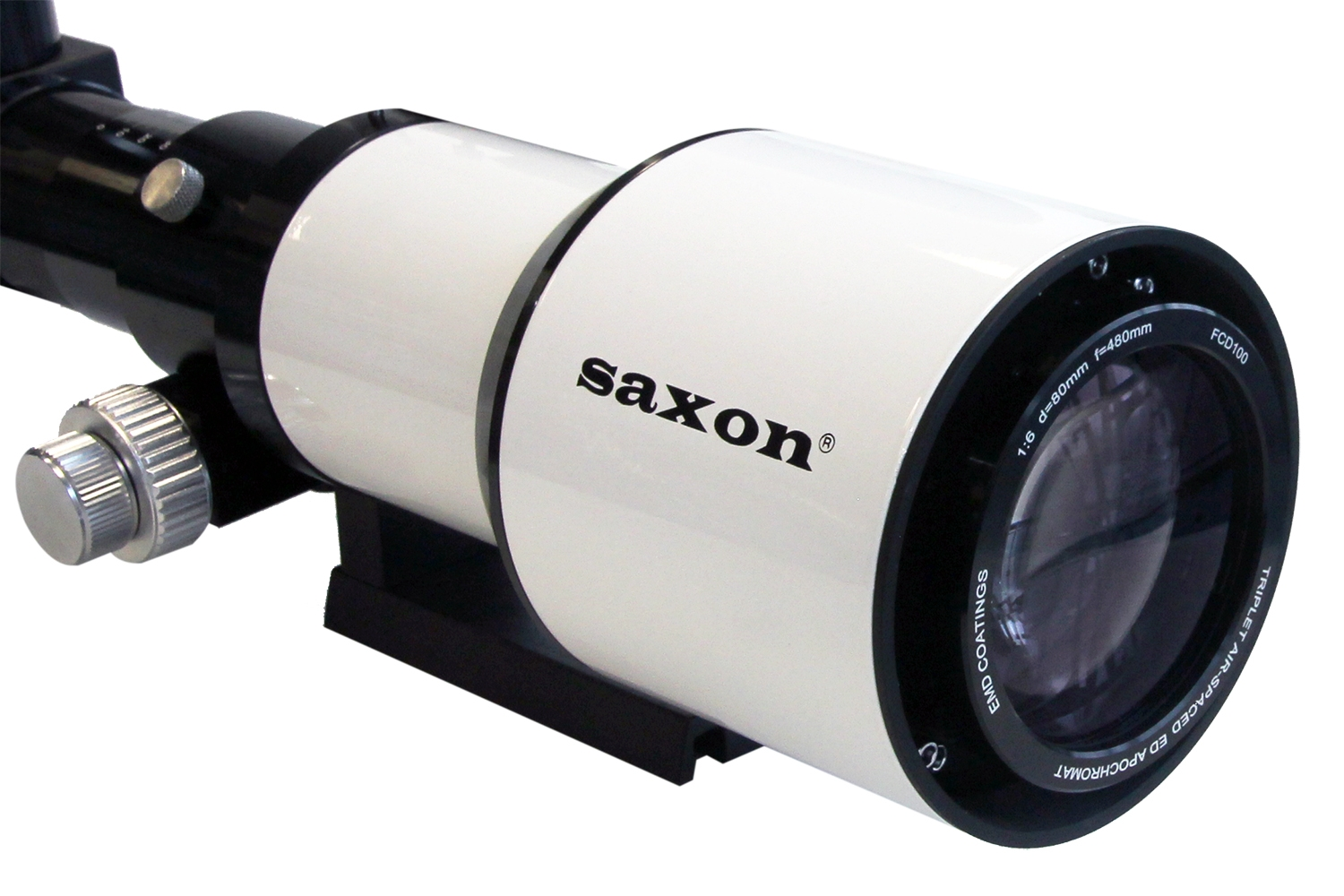 Saxon saxon 80mm apochromatic fcd100 air spaced ed triplet