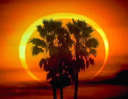 Annular Eclipse: The Ring of Fire
