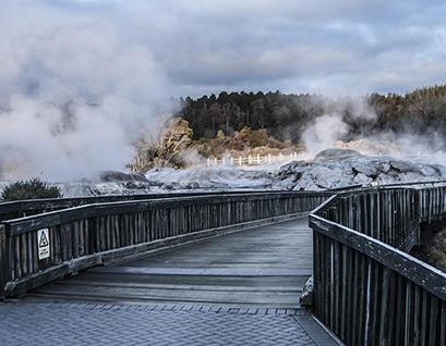 Smokin' Rotorua in New Zealand