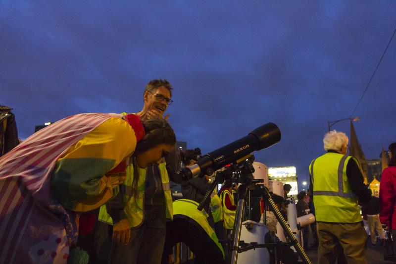 International Observe the Moon Night with saxon and ASV #15