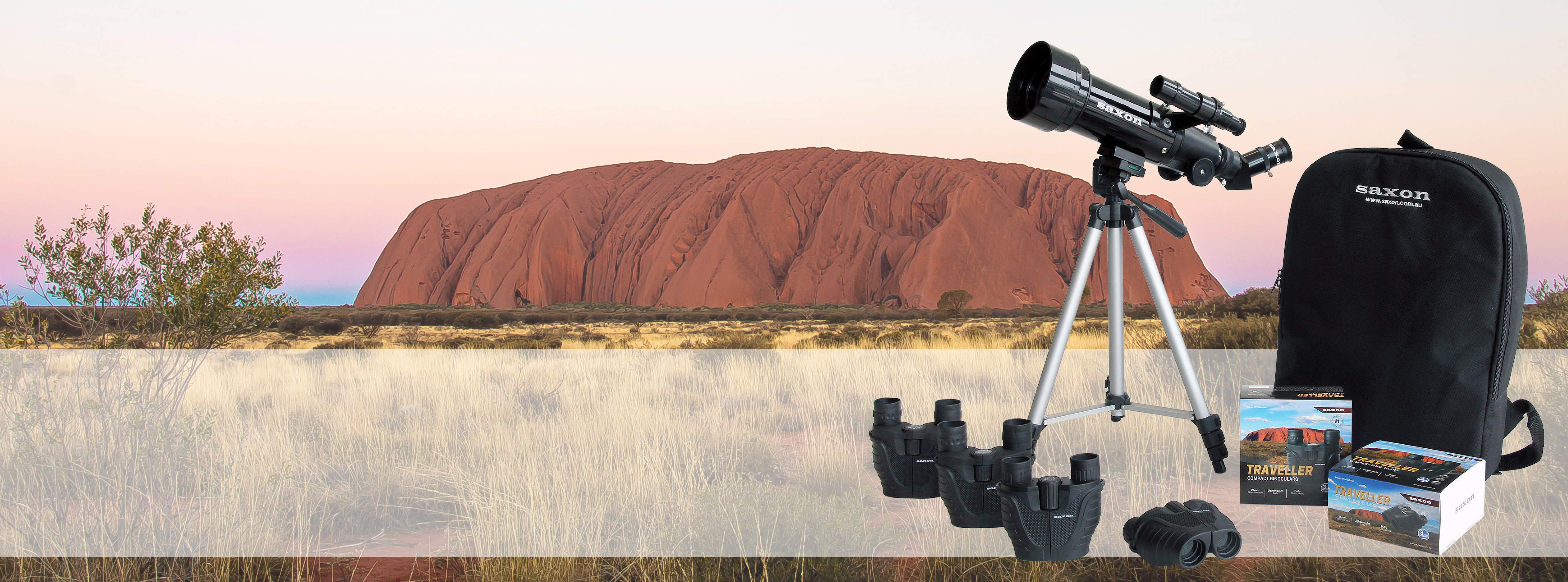 saxon Traveller Series Uluru SunSet